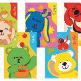A4 Plastic Folder – Assorted Pack