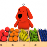 Patrick n friends : 繽紛的水果